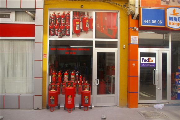 Mert Yangın Söndürme Eskişehir